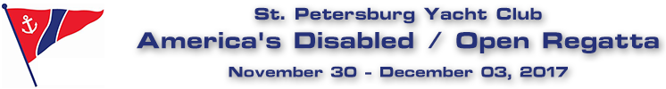 St. Petersburg Yacht Club - America's Disabled / Open Regatta